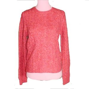 The Limited Medium Coral Pink Wool Blend Sweater